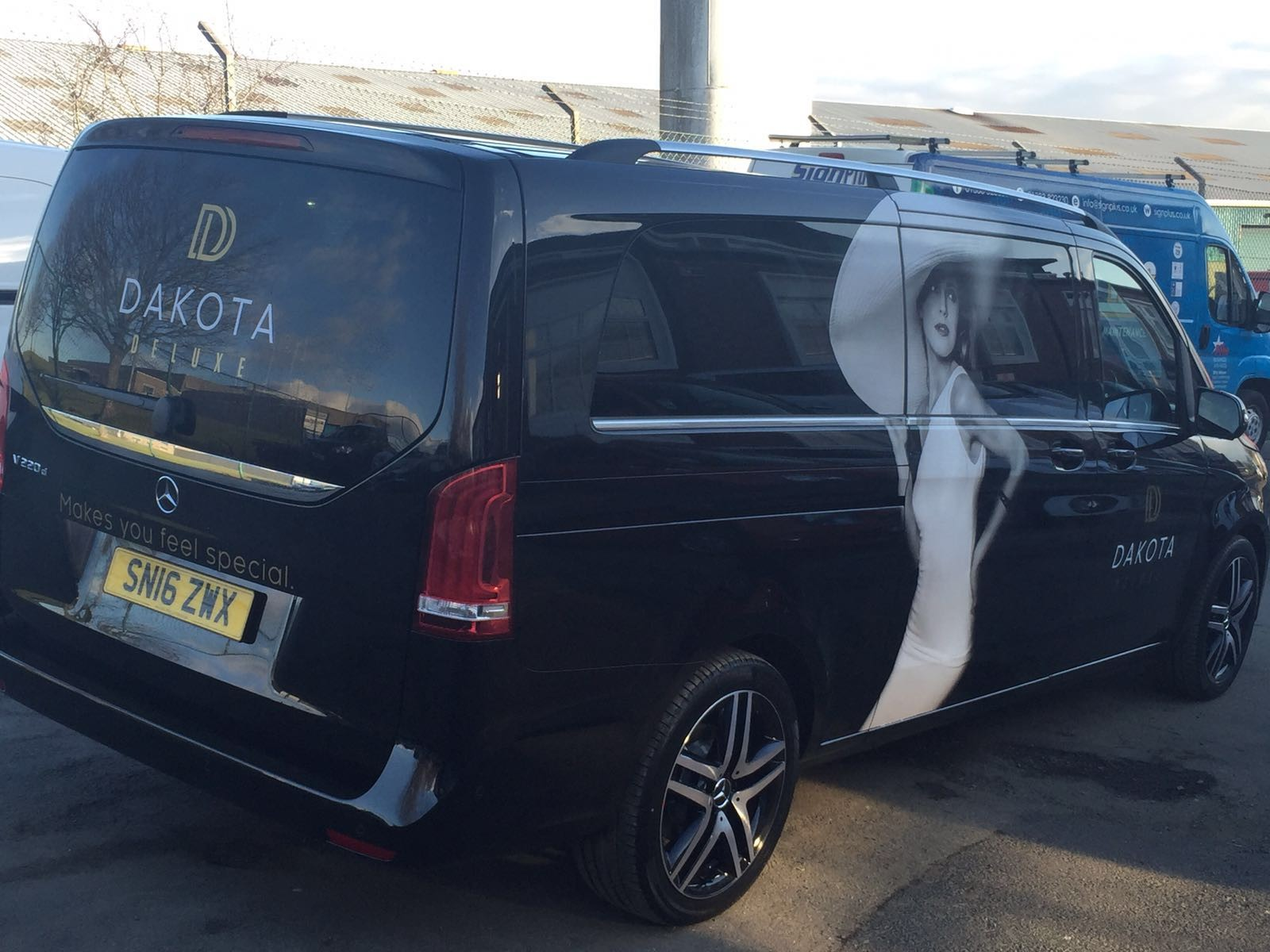 Vehicle Livery for Dakota Edinburgh