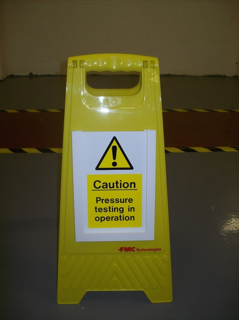 Safety floor signs - Sign Plus