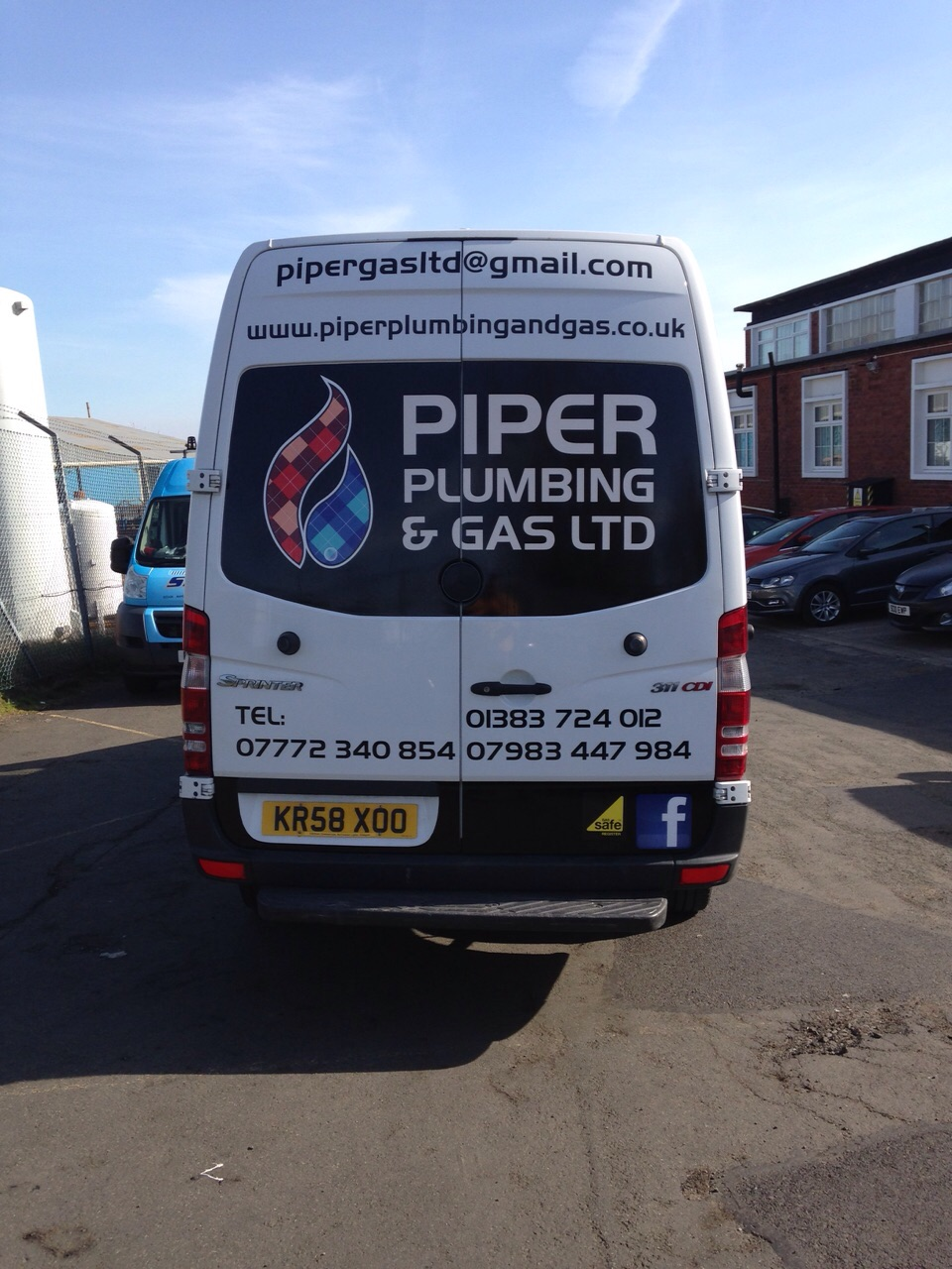 b8a7ef8172 New Livery for Piper Plumbing by Sign Plus - Sign Plus