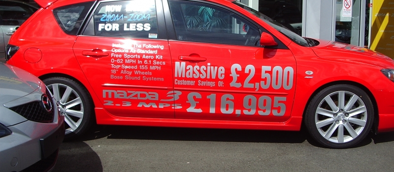 Vehicle Livery - Sign Plus