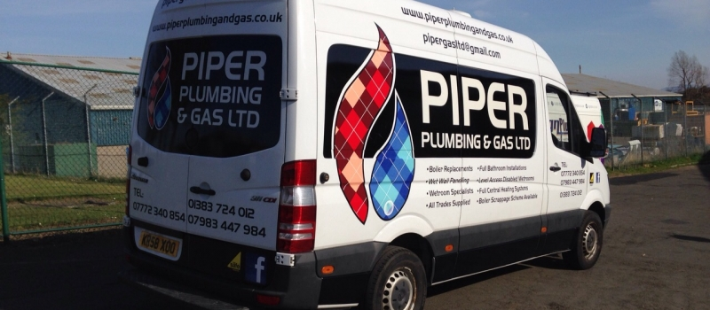 Vehicle Livery in Fife - Sign Plus