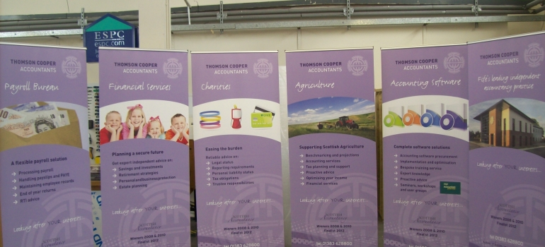 Thomson Cooper Roller Banners