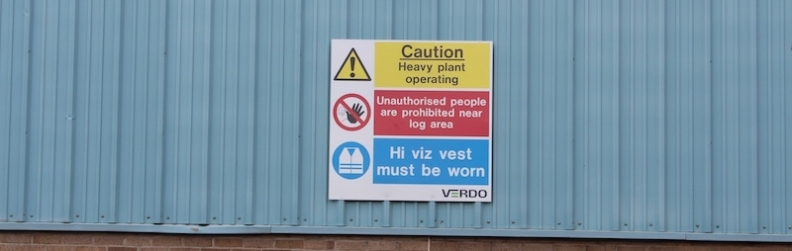 Health and Safety Signs - Sign Plus, Fife