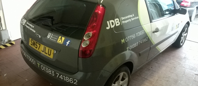 JDB vehicle livery