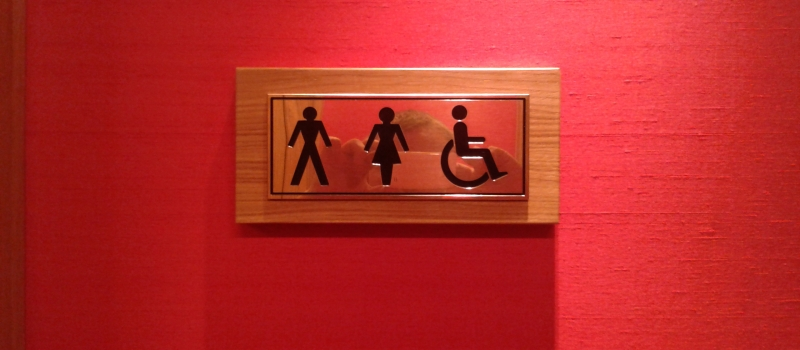 brass engraved facilities sign