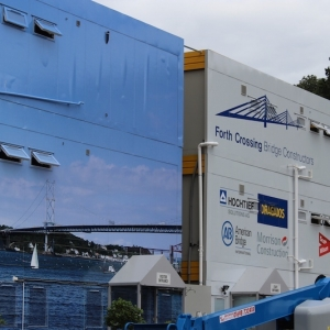 Ditally Printed Building Wrap - Sign Plus